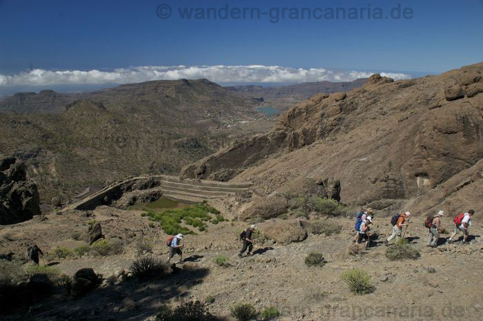 Walking Gran Canaria, the Camino de la Plata