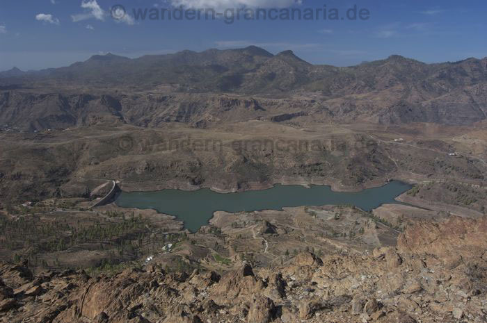 Hiking to the Chira lake, Gran Canaria